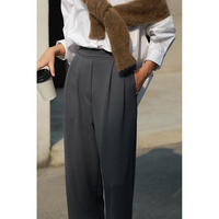 tuck straight pants/3color