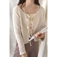 2way ribbon knit/2color
