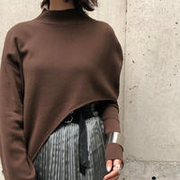 asymmetry knit set/4color
