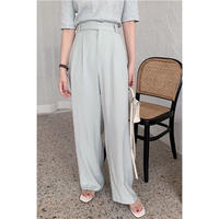 spring wide pants/2color