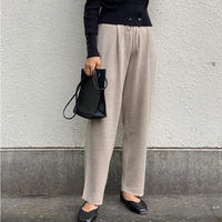 basic wool knit pants/3color