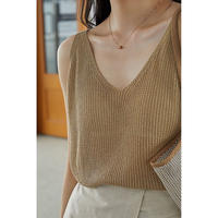 knit tank top/3color