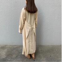 back apron gown dress/2color