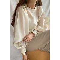 balloon sleeve blouse/2color