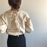 back lace up tops/2color