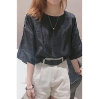 wrinkle pullover/2color