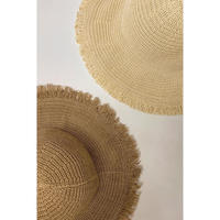 fringe summer hat/2color