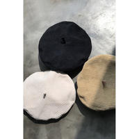 corduroy beret/3color