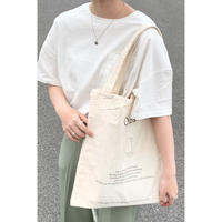 【@coro_3.9様セレクト】double pocket tote bag