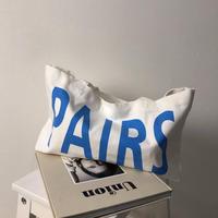 PARIS canvas bag
