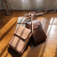 【MADE in KOREA】Mini Shoulder Bag   3col
