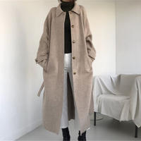 【MADE in KOREA】wool long coat