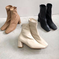 【MADE in KOREA】Square boots   3col