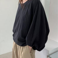 【MADE in KOREA】Balloon blouse   2col
