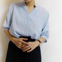 バックボタンシャツ 2col