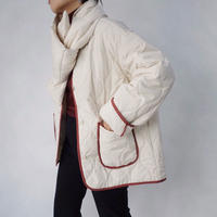 Quilted jacket with stall     2col