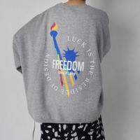 【MADE in KOREA】FREEDOM Sweat    2col