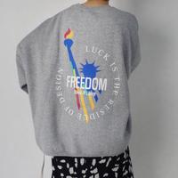 【MADE in KOREA】FREEDOM Sweat    2col