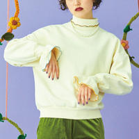flower petal mellow sweat(off white)