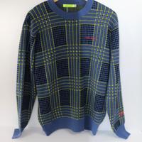 VIVAHEART(ビバハート) メンズ 千鳥チェックセーター