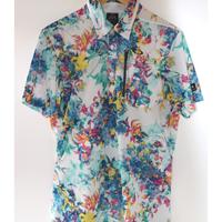OAKLEY(オークリー) Skull Full Bloom Shirts メンズシャツ