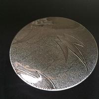 昭和型ガラス「つばめ」 皿 円形 小(Φ120mm)