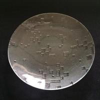 昭和型ガラス「古都」 皿 円形 小(Φ120mm)