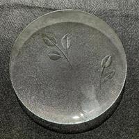 昭和型ガラス「みどり」 皿 円形 中(Φ150mm)
