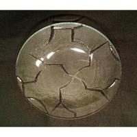 昭和型ガラス「からたち」 皿 円形 小(Φ120mm)