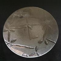 昭和型ガラス「ちぐさ」 皿 円形 小(Φ120mm)