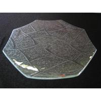 昭和型ガラス「メロン」 皿 八角形 大(Φ180mm)