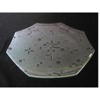 昭和型ガラス「こと」 皿 八角形 中(Φ150mm)