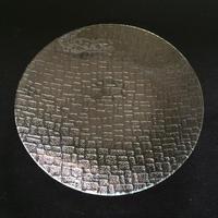 昭和型ガラス「つづれ」 皿 円形 大(Φ180mm)