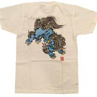 【ディスカウント商品】とび獅子 ブルー Sサイズ