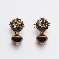 bouquet czech beads  earring/pierce