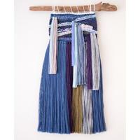 糸で色を作る-紫陽花-