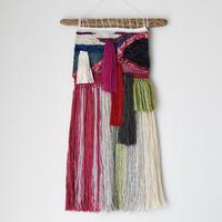 weaving 糸で色を作る- 帯-