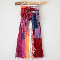 weaving 糸で色を作る -花束-