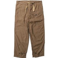 "JOHN GLUCKOW2020SS ""Headhunters"" Windproof Trousers(ウインドプルーフ トラウザー) ブラウン [JG51355]"