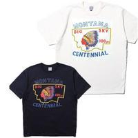 """JELADO """"BASIC COLLECTION"""" Montana Centennial(モンタナセンテニアル) Tee オフホワイト オールドネイビー [AB52201]"""