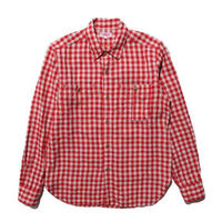 "JELADO ""BASIC COLLECTION"" Railroader Shirt (レイルローダーシャツ) レッド [JP51104]"