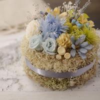 Petite Dried Flowers Cake | Brides No.004