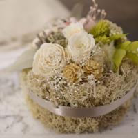 Petite Dried Flowers Cake   Brides No.003