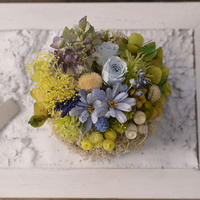 Petite Dried Flowers Cake | Brides No.007