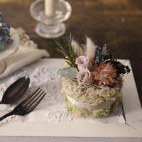 Petite Dried Flowers Cake | Brides mini No.003