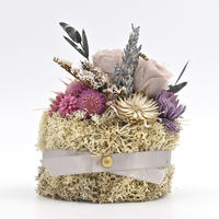 Petite Dried Flowers Cake   Brides mini No.301