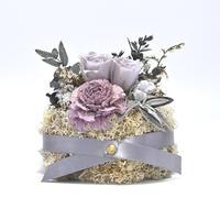 Petite Dried Flowers Cake | Brides No.0015