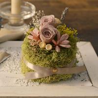 Petite Dried Flowers Cake   Birth No.001