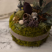 Petite Dried Flowers Cake | Forest No.003