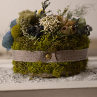 Petite Dried Flowers Cake | Forest No.001